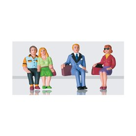 LGB 52390 Passenger Figures, Seated, Set 2