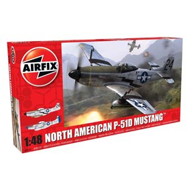 Flygplan North American P-51D Mustang