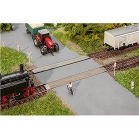 Faller 120243 Obevakad järnvägsövergång