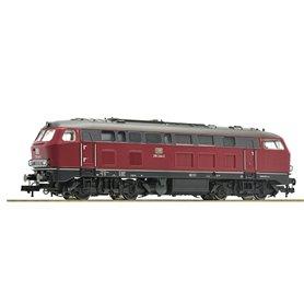 Diesellok klass BR 218 244-2 typ DB