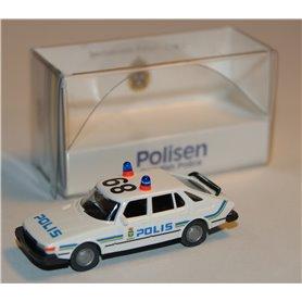 """SAAB 900 Turbo """"Polis"""", anropsnummer 89"""