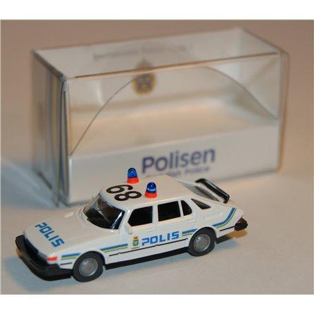"Wiking POLIS SAAB 900 Turbo ""Polis"", anropsnummer 89"