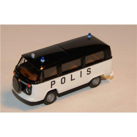 """Brekina POLIS VW T2 """"Polis"""""""