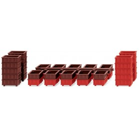 Wiking 01819 Accessory pack - stacking containers II