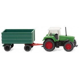 Wiking 96002 Fendt Favorit with trailer