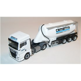 "MAN TGX XLX bulk silo semitrailer ""Cementa"""