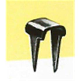 Krampa för fastsättning av ledningar på träunderlag, 50 st