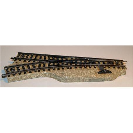 Märklin 5122 Växel för handmanövrering, vänster