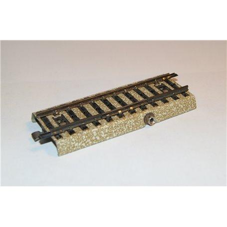 Märklin 5107.2 Avbrottsskena rak, längd 90 mm, används i samband med signaler