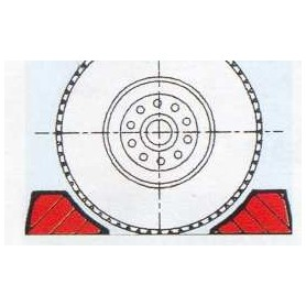 Roco 40005 Säkerhetsklotsar för hjul-laster, 12 st