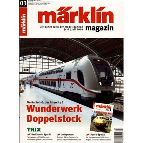 Märklin 298107 Märklin Magazin 3/2018 Tyska