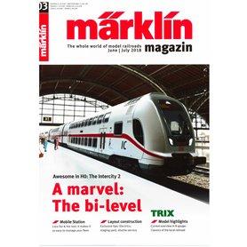 Märklin 298108 Märklin Magazin 3/2018 Engelska