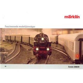 Märklin 18967 Märklin Katalog för 2008/2009 Svenska H0, Z och 1