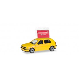 Herpa 012355-007 Herpa MiniKit. VW Golf III, yellow