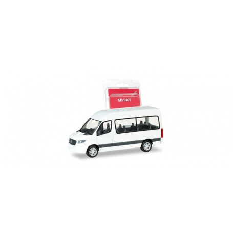 Herpa 013468 Herpa MiniKit. Mercedes-Benz Sprinter Bus highroof, white
