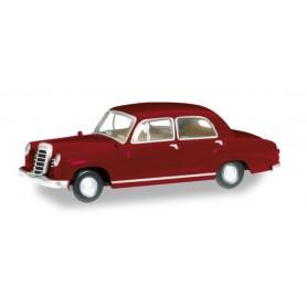 Herpa 024778-005 Mercedes-Benz 180 Ponton, wine red