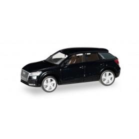 Herpa 038676-003 Audi Q2, mythosblack metallic