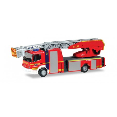 Herpa 093729 Mercedes-Benz Atego Rosenbauer turnable ladder truck 'Gelsenkirchen Fire Department'