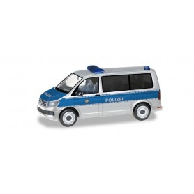 Herpa 093842 VW T6 Bus 'Police Department North Rhine Westphalia'