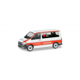 Herpa 093859 VW T6 Bus 'Stuttgart German Red Cross | Winter Bus'