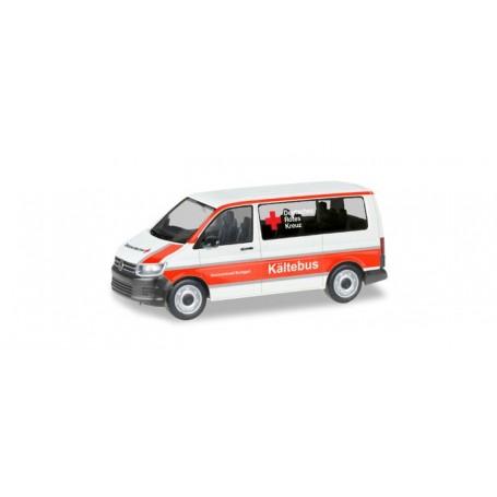 Herpa 093859 VW T6 Bus 'Stuttgart German Red Cross | Winter Bus'