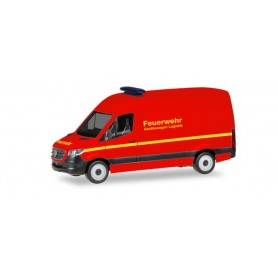 Herpa 093941 Mercedes-Benz Sprinter box type high roof 'Feuerwehr'