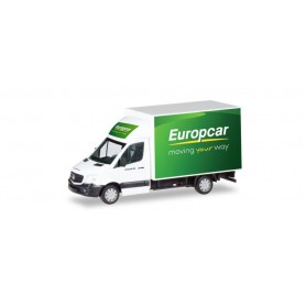 Herpa 093958 Mercedes-Benz Sprinter with box 'Europcar'