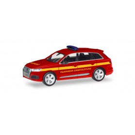 Herpa 093965 Audi Q7 'Fire Department command vehicle'