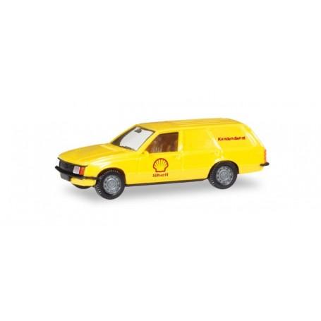 Herpa 093972 Opel Rekord Caravan 'Shell'