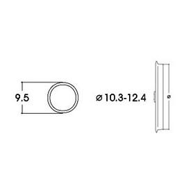 Roco 40074 Slirskydd, för AC lok, för hjuldiameter 10,3 - 12,4 mm, 10 st