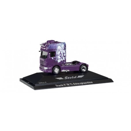Herpa 110921 Scania R TL rigid tractor 'Stelzl, Edition 8', PC