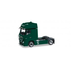 Herpa 301664-005 Mercedes-Benz Actros Gigaspace rigid tractor with bumper and head lights, mossy green