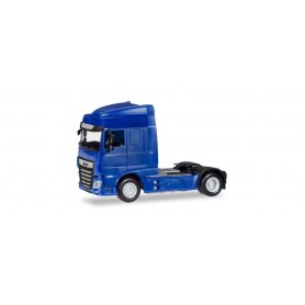 Herpa 309073 DAF XF Euro 6 SC rigid tractor facelift, blue