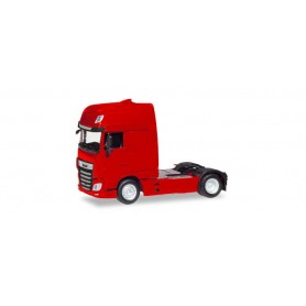 Herpa 309097 DAF XF Euro 6 SSC rigid tractor facelift, red