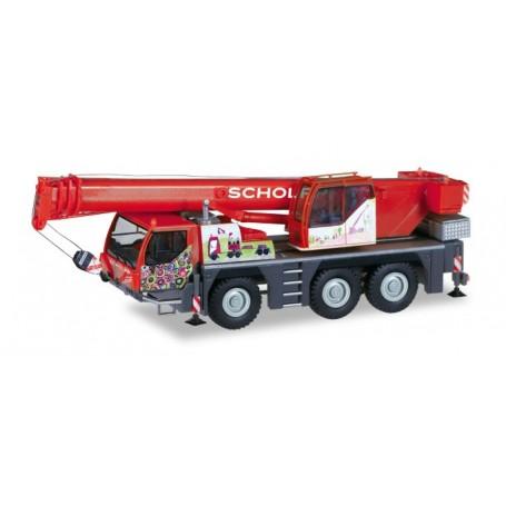 Herpa 309110 Liebherr mobile crane LTM 1045|1 ?Scholpp Kids crane'