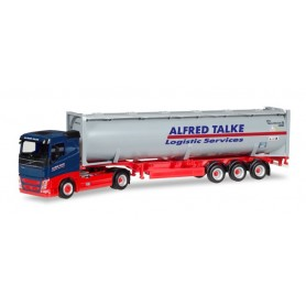 Herpa 309363 Volvo FH flat Roof bulk Container truck Trailer 'Alfred Talke'