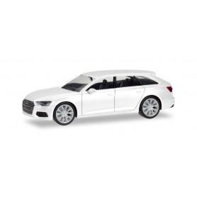 Herpa 420303 Audi A6 Avant, ibis white