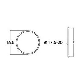 Roco 40077 Slirskydd, för AC lok, för hjuldiameter 17,6 - 20 mm, 10 st