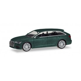 Herpa 430647 Audi A6 Avant, avalon green metallic