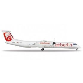 Herpa 531689 Flygplan Air Berlin Bombardier Q400 'Albino' colors