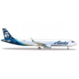 Herpa 531894 Flygplan Alaska Airlines Airbus A321neo