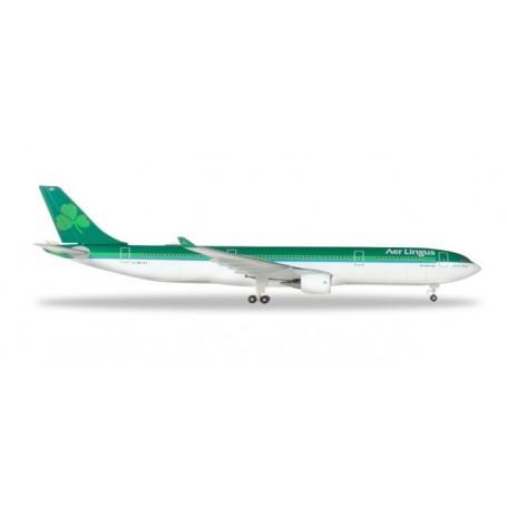 Herpa 531818 Flygplan Aer Lingus Airbus A330-300 ? EI-FNH 'Laurence O' Toole | Lorcan Ó Tuathail'