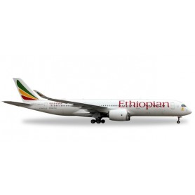 Herpa 531610 Flygplan Ethiopian Airlines Airbus A350-900