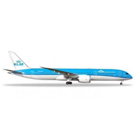 Herpa Wings 528085-002 Flygplan KLM Boeing 787-9 Dreamliner