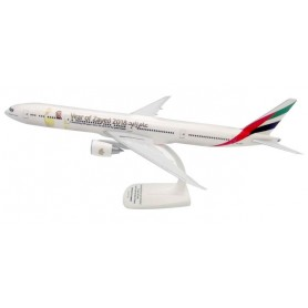 Herpa 611985 Flygplan Emirates Boeing 777-300ER 'Year of Zayed'