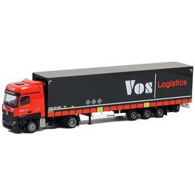 """AMW 53774 Mercedes Benz Big Aero med megatrailer """"Vos Logistics"""""""