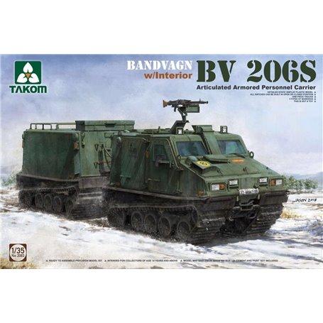 Takom 2083 Bandvagn Hägglunds BV 206S med interiör