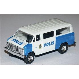 "Trident 90120.1 Chevrolet Van SDA 102 ""Polis - Stockholm"""
