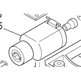 Motor med svänghjul, för en hel del moderna lok