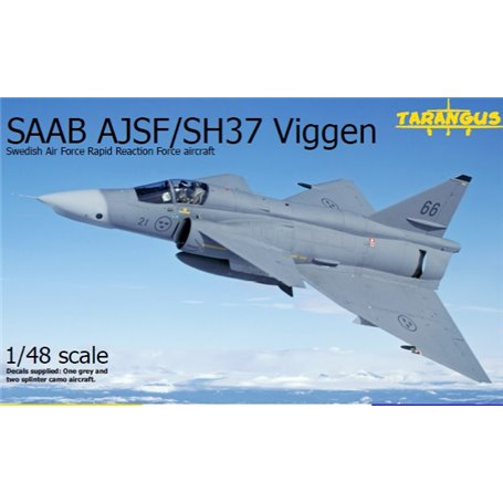 """Tarangus 4808 Flygplan SAAB AJSF/SH37 """"Viggen"""""""